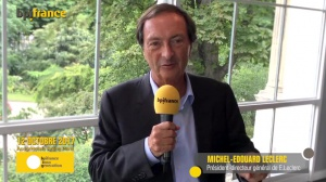 Michel-Edouard Leclerc annonce Bpifrance Inno Generation